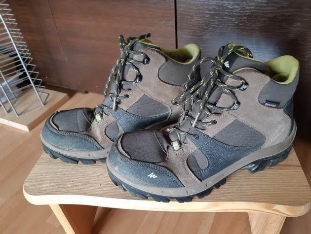 Buty górskie trekking lub na jesień  traper skora r.38