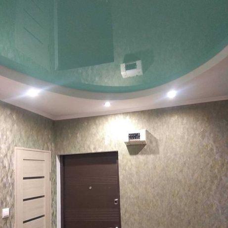 Натяжные потолки, Ремонтные работы