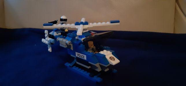 Lego helicóptero polícia