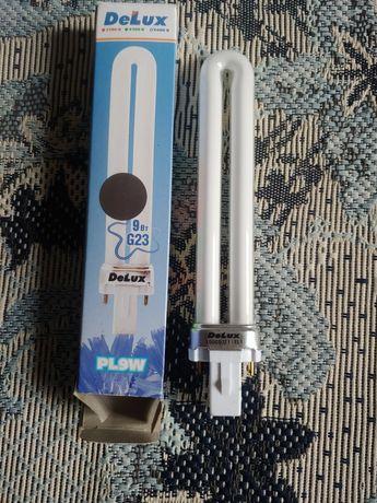 Лампа компактная люминесцентная энергосберегающая DELUX 220v 9w G23
