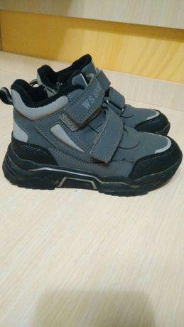 Продам ботинки на мальчика, демисезон