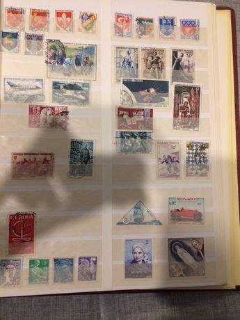 Znaczki pocztowe-mieszane