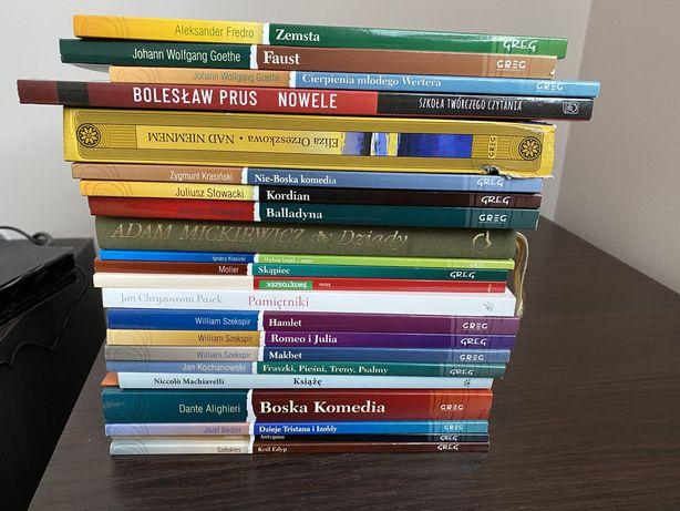 Lektury szkolne 22 książki