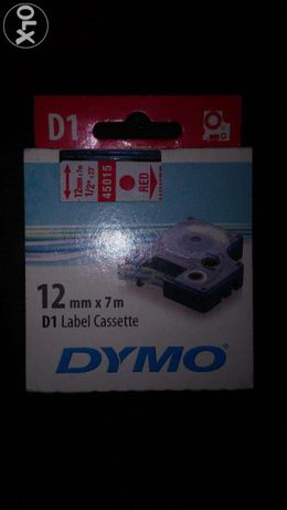 Taśmy D1 DYMO 12mmx7m