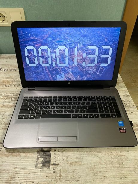 Ноутбук 15.6 HP 250(W4N43EA) процессор i3, SSD 120gb M.2, 8 ГБ ОЗУ