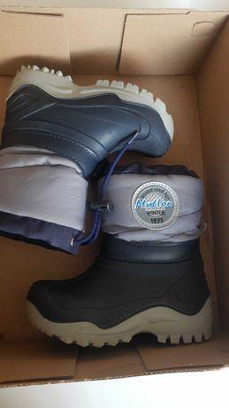 Cieple buty chłopiece