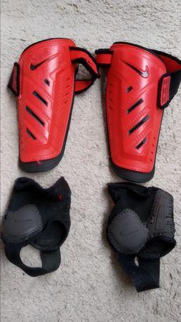 Dziecięce Ochraniacze piłkarskie na piszczele Nike Guard Lock
