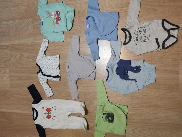 Wyprawka/ paka ubrań dla niemowlaka chlopca  rozm. 62