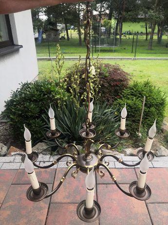 Lampa Metalowa-Patynowana
