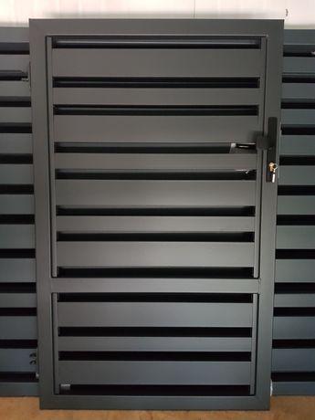 Brama wjazdowa OCYNK panelowa nowoczesna malowana PROSZKOWO Producent
