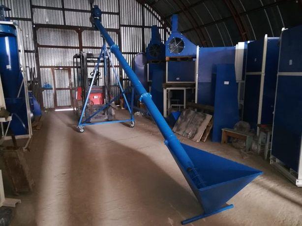 Шнековый погрузчик диаметр 133 мм, навантажувач, зернопогрузчик, шнек
