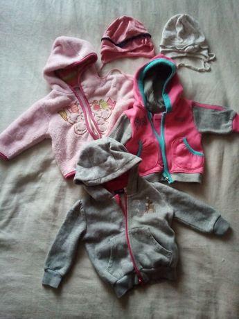Zestaw dla dziewczynki 68 cm 3 miesiące