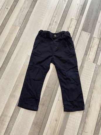 Тёмно синие брюки штаны на мальчика 2-3 года