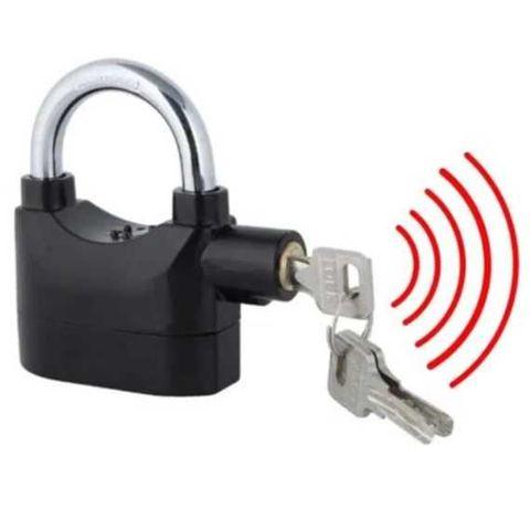 Kłódka z alarmem 110 dB głośny alarm zamek piwnica Wysyłka