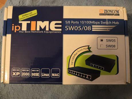 Switch Hub 5 Ports 100Mbps