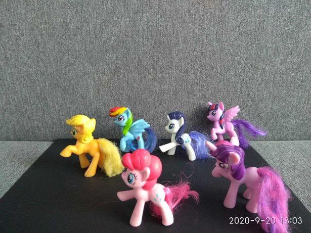 My Little Pony - zestaw 6 kucyków (przesyłka OLX za 1 zł)