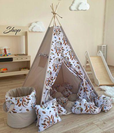 Вигвам палатка, детский домик. В наличии разные расцветки.