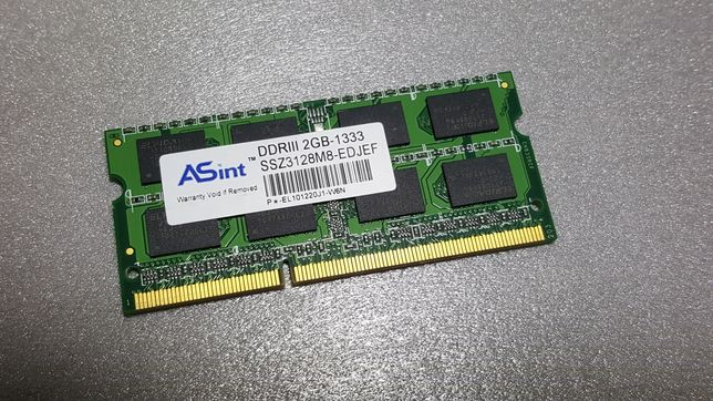 Память оперативная для ноутбука ddr3 2 Gb