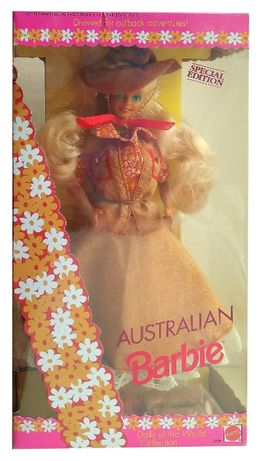 Коллекционная кукла Барби Австралия Куклы Мира Barbie Australian Dolls