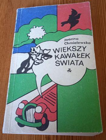 Książka Joanna Chmielewska - Większy kawałek świata + 2 inne książki