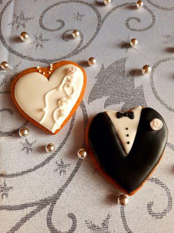 Ślub podziękowanie dla gości pierniczki