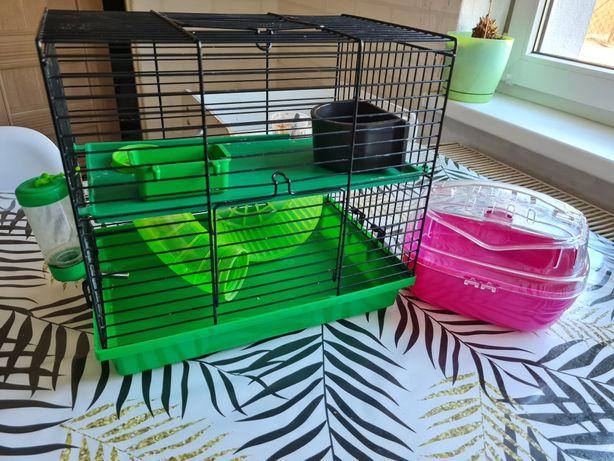 Klatka dla chomika / myszy + akcesoria