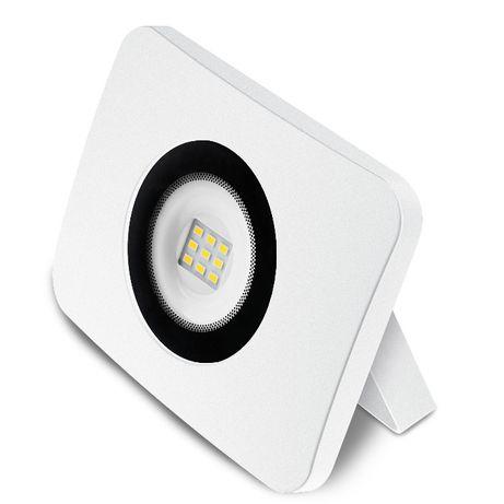 projector de led aluminio fundido branco