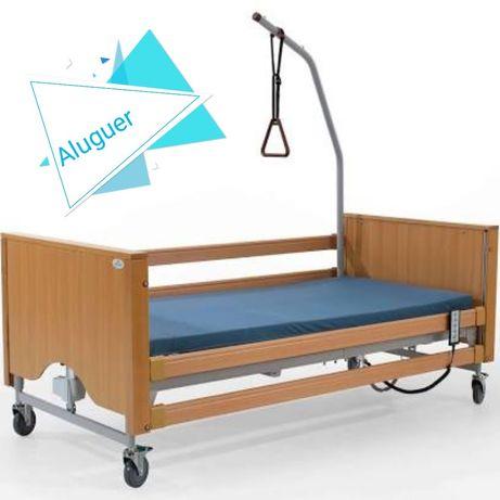 Cama articulada elétrica com colchão anti escaras