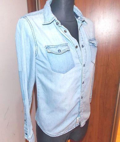 Koszula bluzka dziecięca Cubus 140 jeans jak nowa