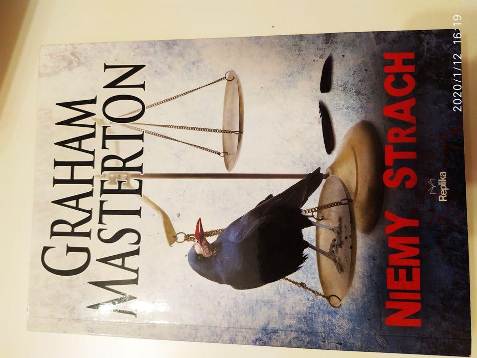Książka, Niemy Strach, Graham Masterton, nowa. [ thriller - fantasy ] Kalisz - image 1