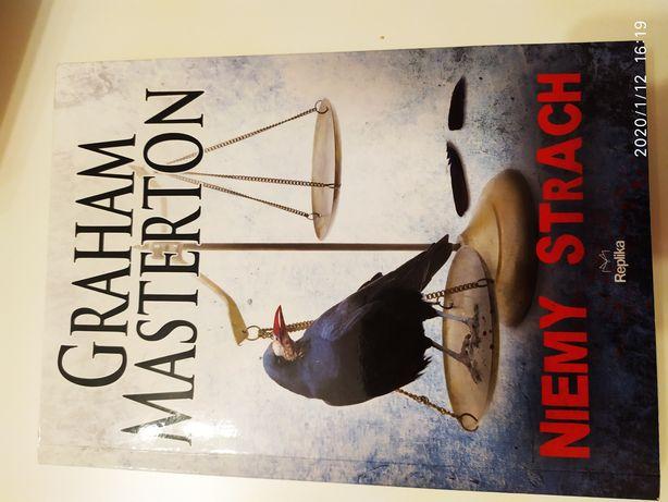 Książka, Niemy Strach, Graham Masterton, nowa. [ thriller - fantasy ]