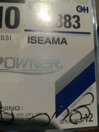 Haczyki Owner Isema 53883 -nr.10.