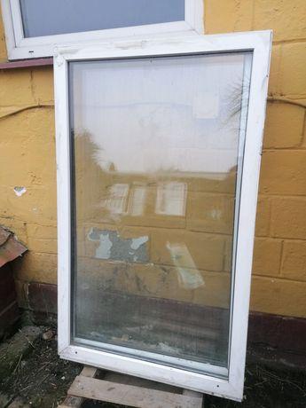 Okno PCV stałe 95 x 155 świetlik 100 x 160