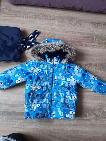 Зимняя курточка комбез на мальчика