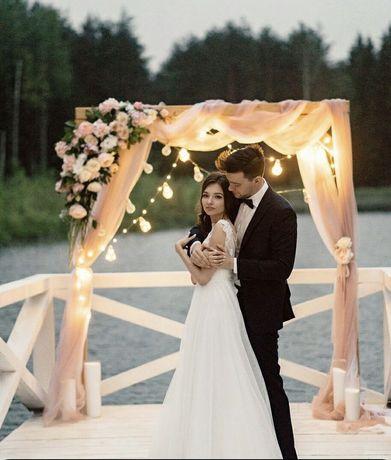 Rama drewniana zdjęcia ścianka ślub wesele