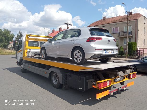 Pomoc drogowa, Holowanie aut, Transport samochodòw