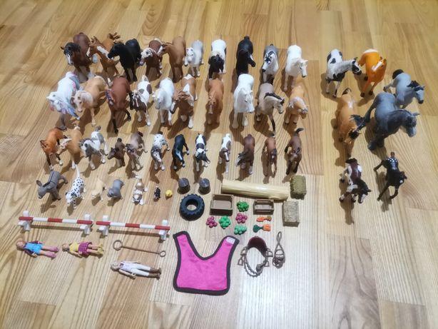 Konie schleich collecta akcesoria zwierzęta ludzie