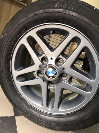 205/60 R15 Диски BMW с резиной в идеальном состоянии! 5х120
