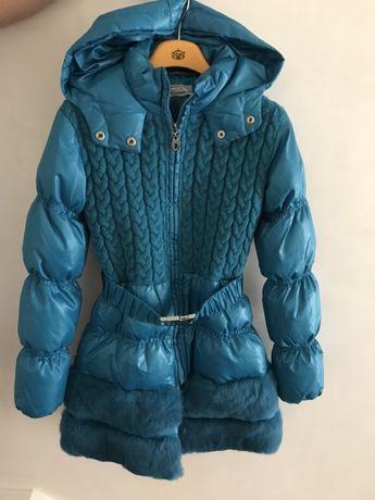 Шикарное итальянское зимнее пальто