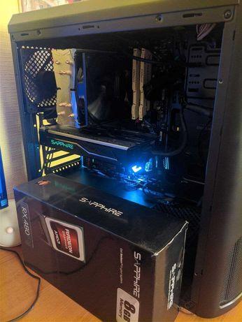 Видеокарта Sapphire Radeon Rx 480 Nitro 8Gb Gddr5