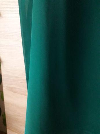 Sukienka wesele komunia butelkowa zieleń 40 42 44