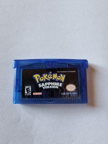 Jogo pokemon sapphire - GBA - Gameboy - Game boy