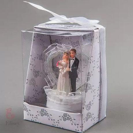 Фигурка «Жених и невеста» на свадебный торт (8 см)