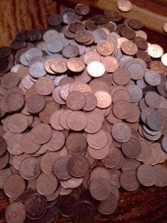 Монеты номиналом 5 коп