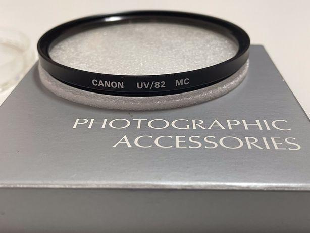 Filtro de lente Canon UV 82mm MC