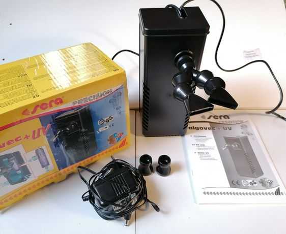 SERA algovec + UV Filtr z lampą.
