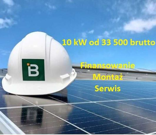 Fotowoltaika 5-50 kW, Instalacja 10kW+Ubezpieczenie - Moduły 440-540W