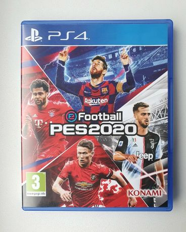 Диск PES 2020 (PS4)