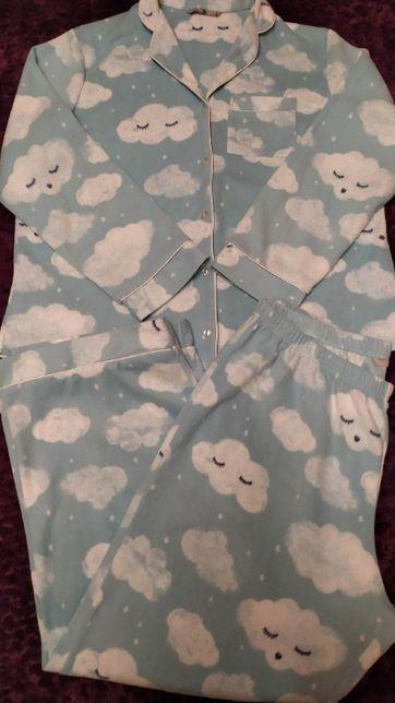 Теплая женская пижама из флиса Tu р. 48-50/до 170.