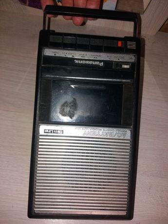 Магнитофон  Panasonic, Slim line.